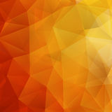 Abstract Autumn geometric shapes. plus EPS10. Abstract Autumn geometric shapes triangle. plus EPS10 vector file Royalty Free Stock Photography