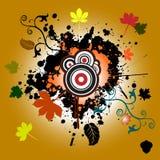 Abstract autumn illustration Royalty Free Stock Photo