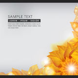 Abstract Autumn Nature Background. This image comes with a vector illustration and can be scaled to any size without loss of resolution Royalty Free Stock Images