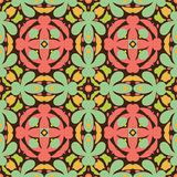Abstract autumn pattern. Delicate seamless pattern with abstract shapes Stock Illustration