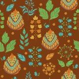 Abstract Autumn Seamless Pattern vector illustratie