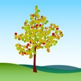 Abstract autumn tree Royalty Free Stock Photography