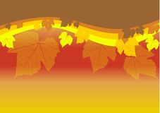 Abstract autumn wallpaper Stock Images