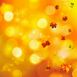 Abstract autumnal backgrounds. With beauty bokeh Royalty Free Stock Image
