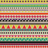 Abstract Aztec Pattern Stock Photo