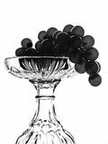 Abstract B&W Wine Background Royalty Free Stock Photography