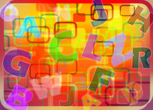 Abstract baby background. An illustration: abstract baby background Royalty Free Illustration