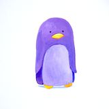 Abstract baby penguin Royalty Free Stock Photos
