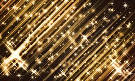 Abstract back ground. Abstract background image that gives off a golden gleam royalty free illustration