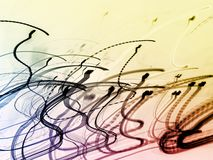 Abstract back ground. It is a scribble background image vector illustration