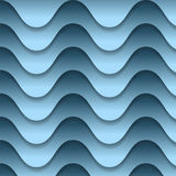 Abstract backdrop with blue waves. Vector abstract backdrop with blue waves royalty free illustration