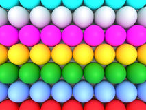 Abstract backdrop of Easter eggs. Art vector illustration