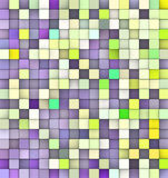 Abstract backdrop in green and purple. Abstract 3d cubes backdrop in green and purple Stock Illustration