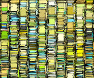 Abstract backdrop pattern in green yellow gray Stock Photography