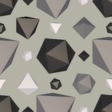 Abstract backdrop with polygon. Vector illustration Stock Photos