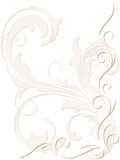 Abstract backdrop with swirly decoration Royalty Free Stock Photo