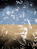 Abstract backdrops. Abstract textured nature inspired illustration backgrounds stock illustration