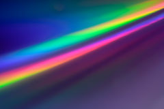 Abstract backgound in Rainbow colors Royalty Free Stock Photography