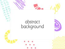 Abstract backgrond. Hand drawn template for card, flyer and invitation design. Abstract backgronds set. Hand drawn template for card, flyer and invitation vector illustration