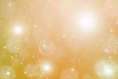 Abstract backgroud with flare and glittering star Stock Image