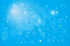 Abstract backgroud with magic bokeh. Abstract blue backgroud with magic bokeh Stock Image