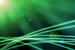 Abstract backgroud, sun with lens flare Stock Image