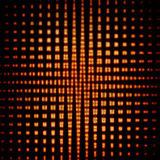 Abstract background – grid of dots and shapes Royalty Free Stock Photos