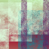 Abstract background 1. Abstract colorful background with geometric grunge patterns royalty free illustration