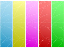 Abstract background. Colorful abstract design. Vector illustration Royalty Free Stock Photos