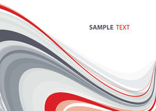 Abstract background. Red and gray abstract background. Vector stock illustration