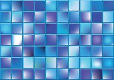 Abstract background. Vector abstract background of blue blocks Stock Photo