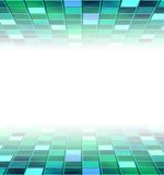 Abstract background. Of green blocks with copyspace Royalty Free Stock Photos