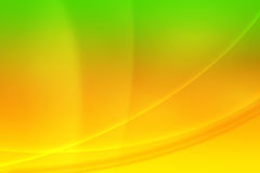Abstract background. Green and yellow abstract background Royalty Free Stock Images