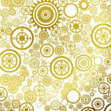 Abstract background. Abstract clockwork background, seamless pattern with sprockets vector illustration