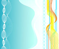 Abstract background. An illustration of digital background Royalty Free Stock Image