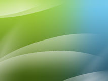 Abstract background. With circular gradients in vista style Royalty Free Stock Photography