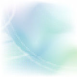 Abstract background. Soft abstract background with halftone pattern; illustration stock illustration