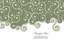 Abstract background. With many swirls Royalty Free Stock Image