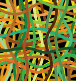 Abstract background. Vector lines of different colors Stock Photos