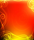 Abstract background. Golden line, power effect, golden elements Stock Photo