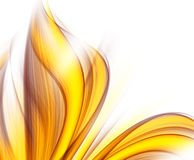 Abstract background. With yellow and red blurs Stock Photos