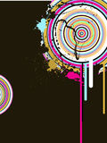 Abstract background. Vector illustration of abstract elements Stock Photography