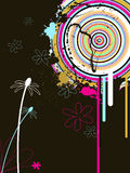 Abstract background. Vector illustration with abstract elements Stock Photography