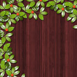 Abstract background. With ivy's leaves Royalty Free Stock Photos