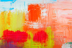 Abstract background. Drawn by oil paints stock illustration