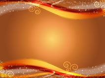 Abstract background. Illustration of gold abstract background royalty free illustration