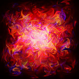 Abstract Background. A Fiery Abstract Background Pattern Stock Photography