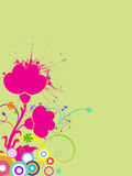 Abstract background. Vector illustration of abstract elements Stock Image