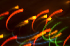 Abstract background. Of holiday lights Stock Photography