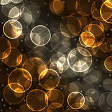 Abstract  background. Abstract background with transparent circles and stars Stock Images